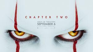 """Vor dem """"ES Kapitel 2""""-Trailer: Böse Pennywise-Augen auf dem Poster"""