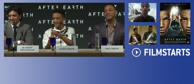 Exklusiv: Will &amp; Jaden Smith &#252;ber &quot;After Earth&quot;!