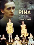 Eines Tages fragte mich Pina