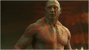 """Dave Bautista Schauspielgott: James Gunn postet witzige Bilder von """"Guardians Of The Galaxy 2""""-Proben"""