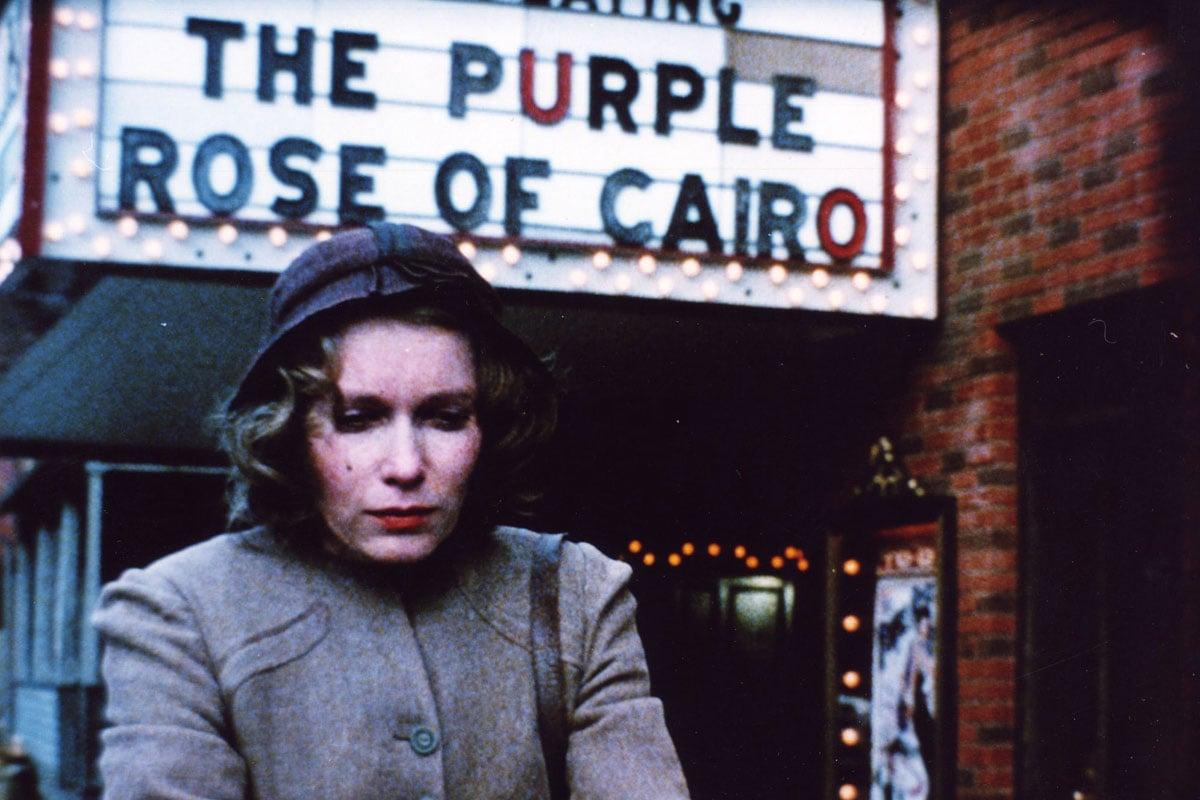 The purple rose of cairo theme