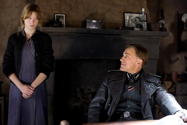 Inglourious Basterds : Bild Christoph Waltz, Léa Seydoux ...