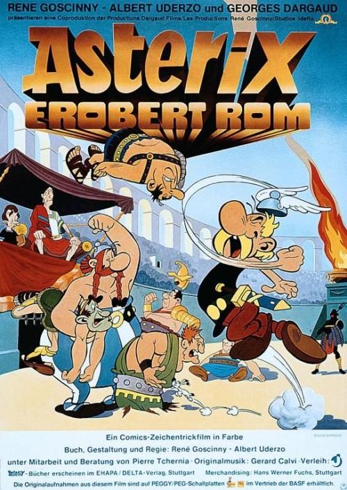 asterix erobert rom cast crew besetzung und stab. Black Bedroom Furniture Sets. Home Design Ideas
