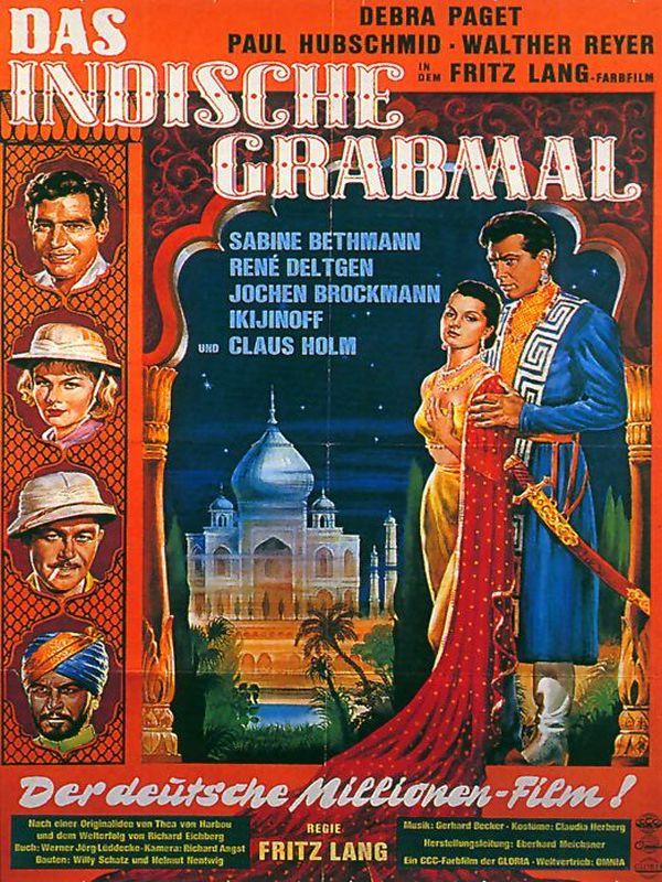 Indische Schauspielerin Meena Blue Film