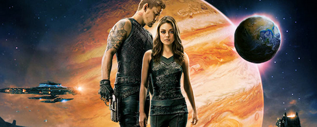 mila kunis channing tatum und diverse kreaturen im neuen trailer zu jupiter ascending dem. Black Bedroom Furniture Sets. Home Design Ideas
