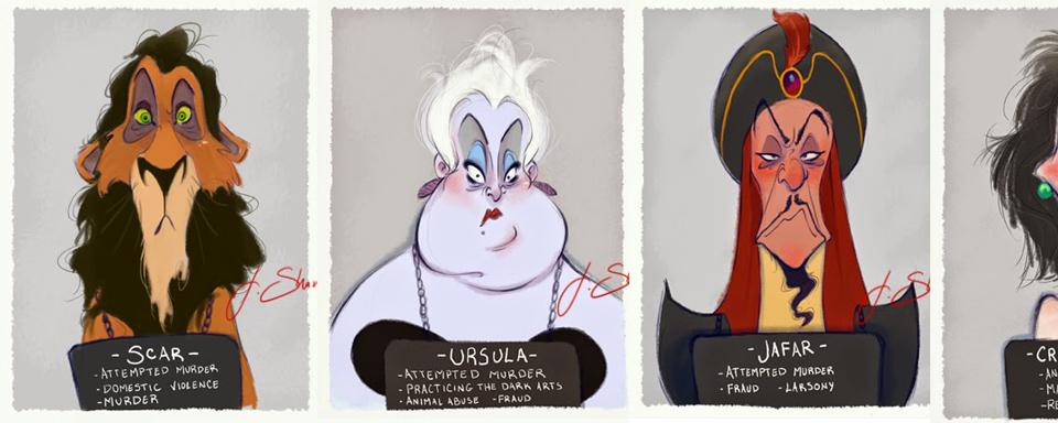Böse Disney Figuren