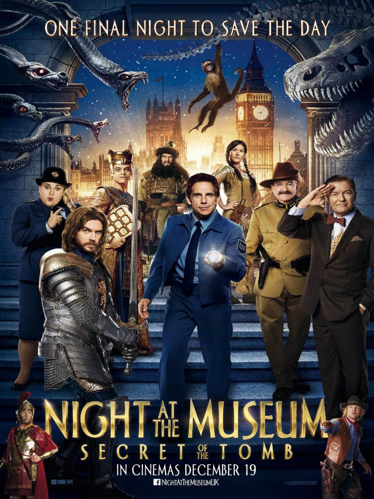 nachts im museum: das geheimnisvolle grabmal