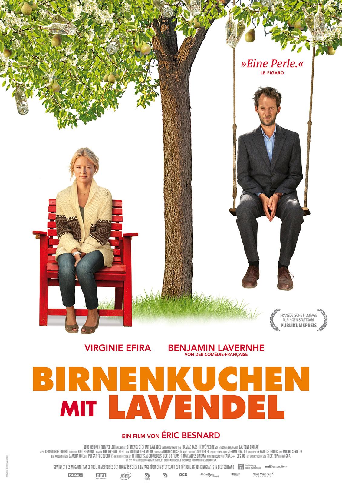 Birnbaum Und Lavendel
