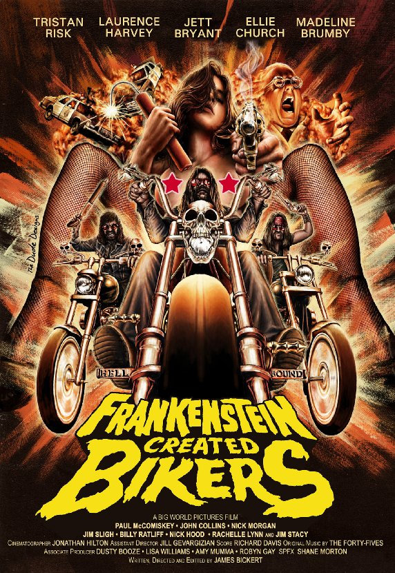 Image result for frankenstein created bikers