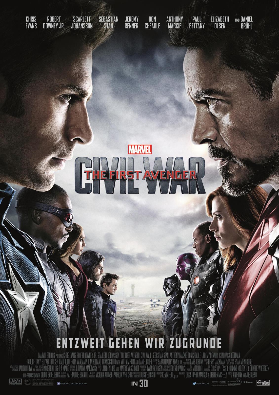 First Avenger Civil War Imdb