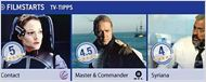 Die FILMSTARTS-TV-Tipps (26. August bis 1. September)