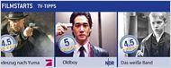Die FILMSTARTS-TV-Tipps (30. September bis 6. Oktober)