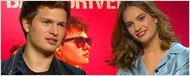 """Was ist der perfekte Song zum Autofahren? Das FILMSTARTS-Interview zu """"Baby Driver"""" mit Ansel Elgort, Jamie Foxx, Jon Hamm, Eiza Gonzales und Lily James"""