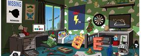 Wer findet alle 33 Anspielungen auf Pixar-Filme und -Figuren auf diesem Bild?