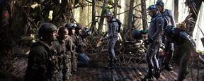 """Am Set von """"Planet der Affen: Survival"""": Das FILMSTARTS-Interview mit den Affen-Darstellern Andy Serkis, Karin Konoval und Terry Notary"""