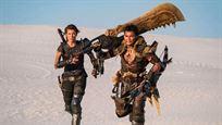 """Neues Bild zu """"Monster Hunter"""": Milla Jovovich schwingt eine ikonische Waffe aus den Spielen"""