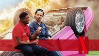 """Krasser Mix aus """"Jackass"""" und """"Borat"""": Abgefahrene Stunts im Trailer zu Netflix' """"Bad Trip"""""""