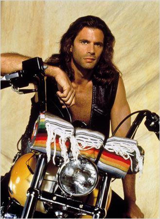 Homme Nu Sur Harley Davidson