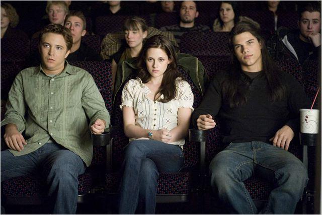 New Moon - Bis(s) zur Mittagsstunde : Bild Kristen Stewart, Michael Welch, Stephenie Meyer, Taylor Lautner