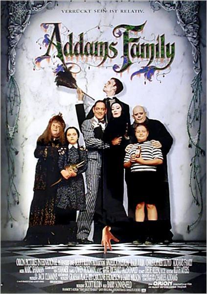 die addams family kinoposter die addams family bild 1 von 20. Black Bedroom Furniture Sets. Home Design Ideas