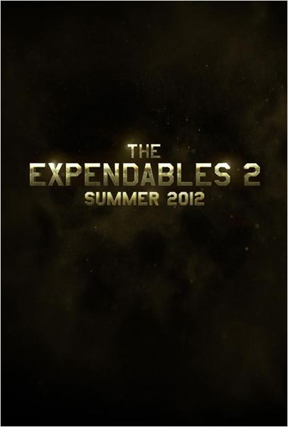 The Expendables 2 - Back for War : poster
