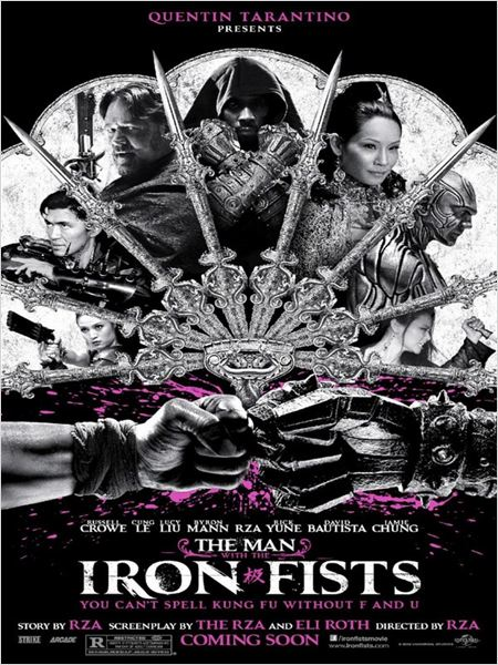 The Man with the Iron Fists : Kinoposter