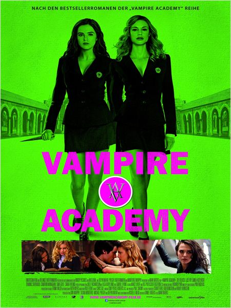 vampire academy kinoposter vampire academy bild 1 von. Black Bedroom Furniture Sets. Home Design Ideas