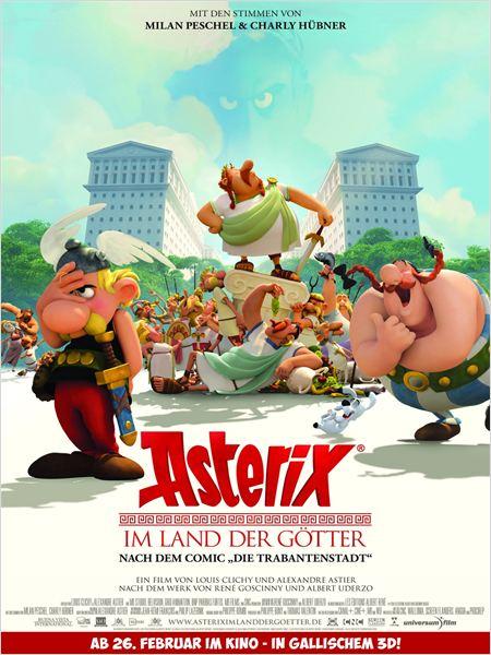 Asterix im Land der Götter : Kinoposter