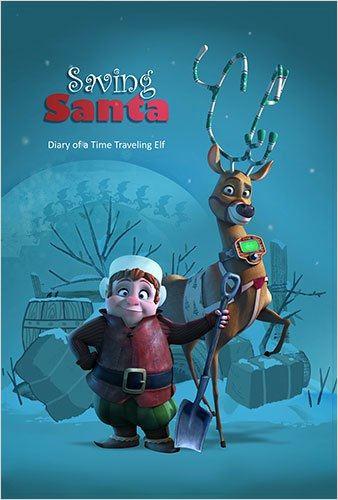saving santa ein elf rettet weihnachten kinoposter. Black Bedroom Furniture Sets. Home Design Ideas