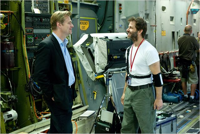 Man Of Steel : Bild Christopher Nolan, Zack Snyder