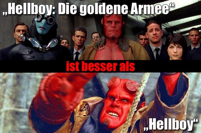 hellboy die goldene armee 3 5 sterne vs hellboy 3. Black Bedroom Furniture Sets. Home Design Ideas