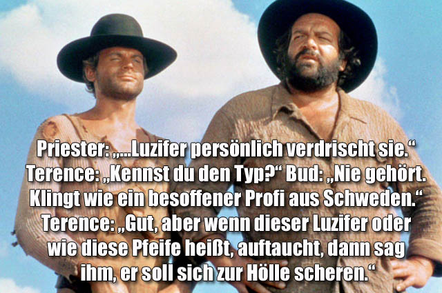 Beste Sprüche Bud Spencer