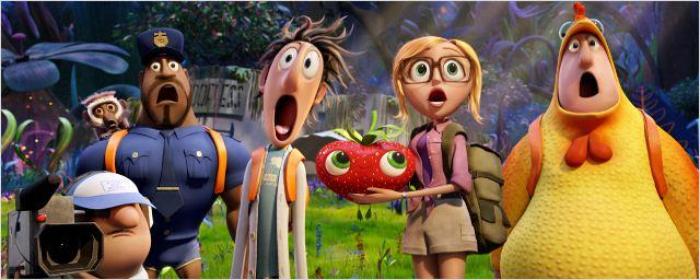 """Exklusiv: Motion-Poster zum Animations-Spaß """"Wolkig mit Aussicht auf Fleischbällchen 2"""""""