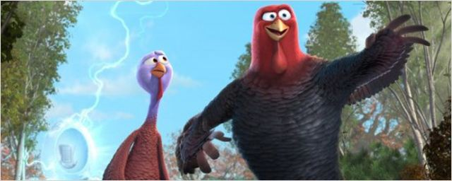 """Zeitreisende Truthähne im ersten Trailer zu """"Free Birds"""" mit den Stimmen von Owen Wilson und Woody Harrelson"""