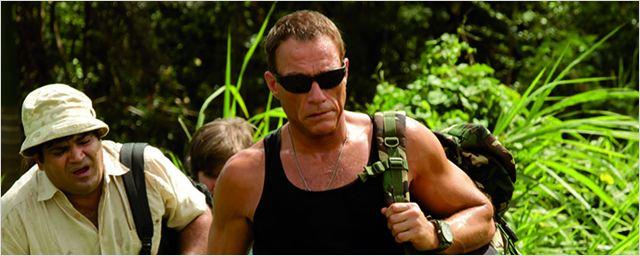 """Jean-Claude Van Damme hat eine tierische Begegnung in unserem exklusiven Ausschnitt aus """"Dschungelcamp"""""""
