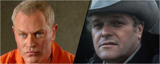 """Brian Dennehy und Neal McDonough als Gangster in der 1960er-Krimi-Serie """"Public Morals"""""""