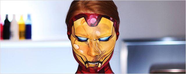 Kein CGI, nur Make-up: Ein YouTube-Star verwandelt sich nur mit Hilfe handelsüblicher Schminke täuschend echt in Filmfiguren