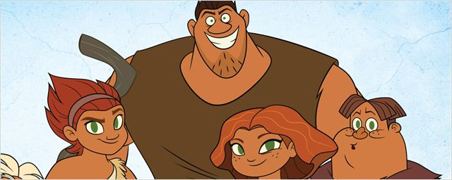 """Dawn Of The Croods"": Zeichentrick-Prequelserie zum Animationsfilms ""Die Croods"" ab heute auf Netflix"