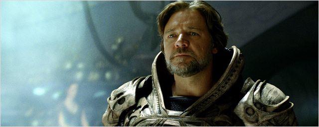 """Russell Crowe bestätigt: Pläne für mehrere """"Man Of Steel""""-Fortsetzungen wurden verworfen"""