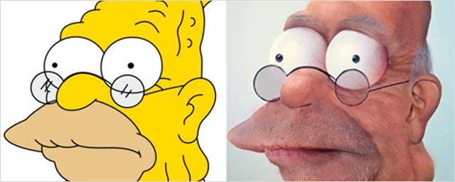 Homer, SpongeBob & Co.: So würden beliebte Comic-Figuren in Wirklichkeit aussehen