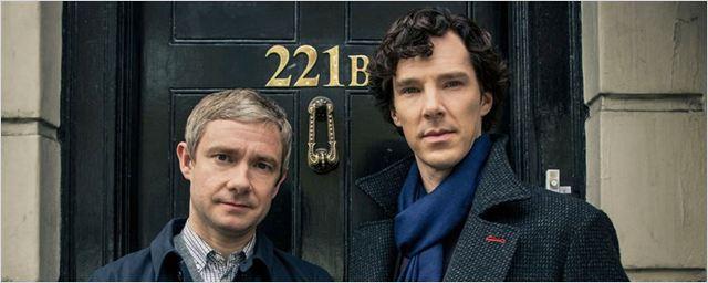 """""""Sherlock"""": Benedict Cumberbatch und Martin Freeman grübeln auf neuem Promobild zur 4. Staffel"""