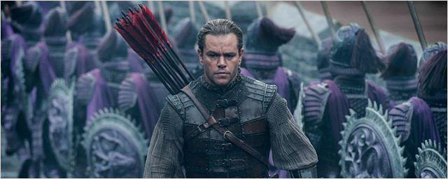 """""""The Great Wall"""": Unheimliche Kreaturen überrennen die Chinesische Mauer im neuen Trailer zum Actioner mit Matt Damon"""