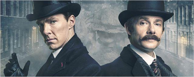 """""""Sherlock"""": Neuer Teaser zur vierten Staffel der Erfolgsserie mit Benedict Cumberbatch und Martin Freeman"""