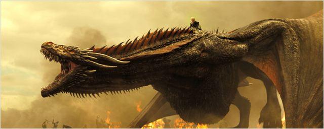 """""""Game Of Thrones"""": Drache Drogon ist riesig auf neuen Bildern zur 7. Staffel"""